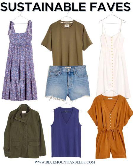 Sustainable fashion sustainable styles vacation style sustainable dresses http://liketk.it/3chBZ #liketkit @liketoknow.it   #LTKunder100 #LTKstyletip #LTKtravel