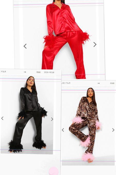 Feather pajamas $35 and under, best pajamas   #LTKunder50 #LTKstyletip #LTKunder100