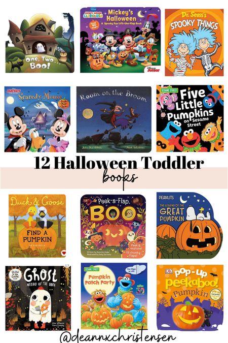 12 Halloween Toddler Books   #LTKfamily #LTKkids #LTKSeasonal