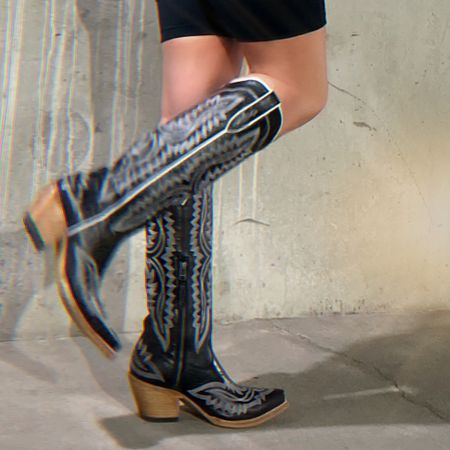 Best transitional boots I've found 🖤 edgy or country style  #LTKunder100 #LTKstyletip #LTKshoecrush
