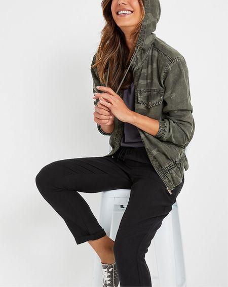 Under $50 and the cutest camo jacket   #LTKstyletip #LTKunder50 #LTKtravel
