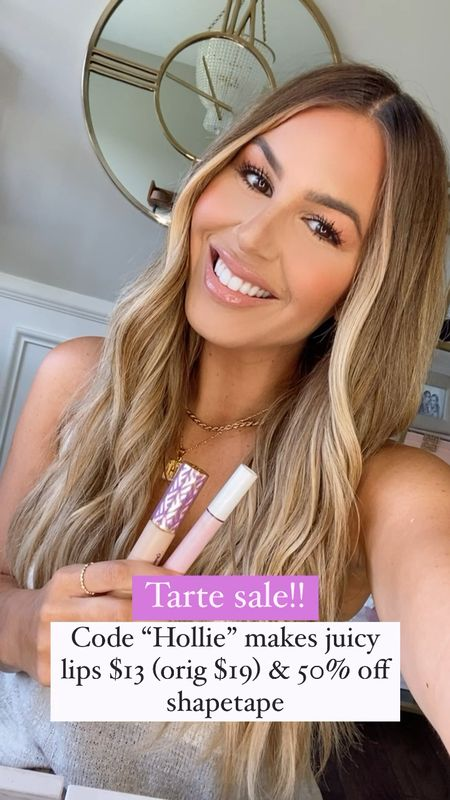 Shade grapefruit, rose and clear are my favorite juicy shades!  Shade light/med sand and light neutral for the shape tape concealer   #LTKunder50 #LTKbeauty