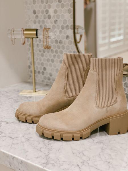 #nsale booties! Sock booties neutral ribbed from Nordstrom anniversary sale. Boots fit true to size.   #LTKshoecrush #LTKstyletip #LTKsalealert
