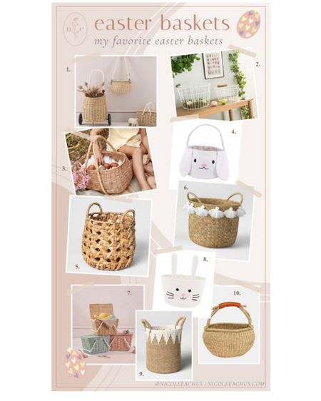 my favorite Easter baskets! http://liketk.it/3aN8h #liketkit @liketoknow.it