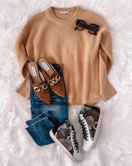 Sneakers or flats? Also you HAVE to try a pair of these under $50 jeans they're like magic 🙌🏻  #LTKunder50 #LTKshoecrush #LTKstyletip