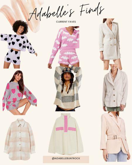 Nastygal target h&m free people jacket sweater set   #LTKunder100 #LTKSeasonal #LTKunder50