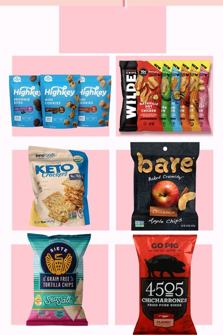 Some yummy no refined carbs snacks that I love! These wilde chips from Amazon are a great chip substitute, and the cookies from Target are great when I'm craving something sweet! #amazon #target #norefinedcarbs #snacks #healthysnacks   #LTKhome #LTKunder50 #LTKfit