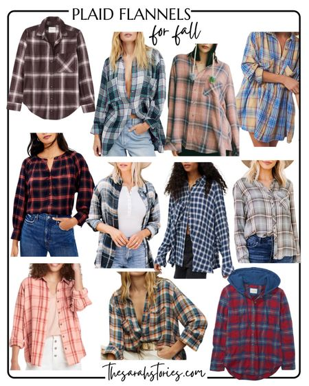 All of my very favorite plaid flannel tops for Fall!   #LTKstyletip #LTKSeasonal #LTKunder50