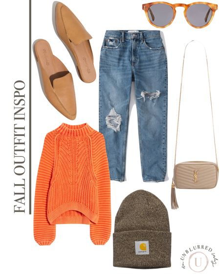 Fall outfit inspo for her! Love this beautiful mock neck knit orange sweater for the fall! http://liketk.it/2ZYt2 #liketkit @liketoknow.it #LTKunder100 #LTKstyletip #LTKcurves