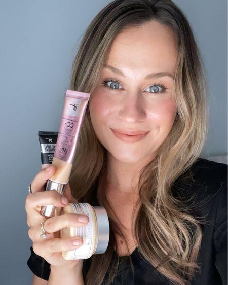 If you love it cosmetics cc cream, concealer and confidence in a cream, it's all on sale today!!!! http://liketk.it/3i7pa #liketkit @liketoknow.it #LTKunder50 #LTKbeauty #LTKsalealert