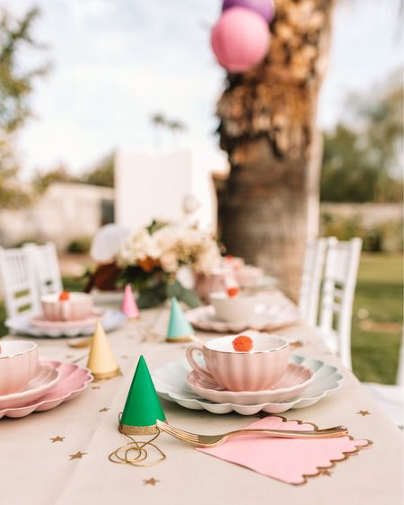 well you guys asked for it, so here it is! my daughter's very merry unbirthday tea party is on the blog today! 🎉☕️🧁🍥🥪  her birthday is actually in november and always falls right before thanksgiving. which is my busiest time of year for work, followed closely but the busy-ness of the holidays. I almost gave up on this post, but when you guys gave me a strong YES in my stories the other day when I asked about it, you inspired me to get my stuff together and post. ☺️ so thank YOU!  I'm linking what I can here on @liketoknow.it . http://liketk.it/35YLy but linking all the things on my blog tonight! thelovedesignedlife.com   #liketkit #LTKkids #LTKfamily #LTKunder50 @liketoknow.it.home @liketoknow.it.family