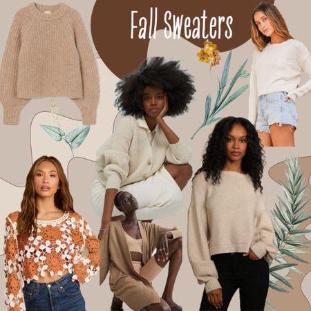 Fall neutral sweaters  #LTKstyletip #LTKbacktoschool #LTKsalealert