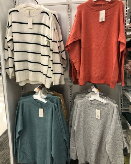 Cozy oversized sweaters - not too heavy and not see through!  Perfect to pair with leggings or jeans or anything.    #LTKHoliday #LTKGiftGuide #LTKSeasonal