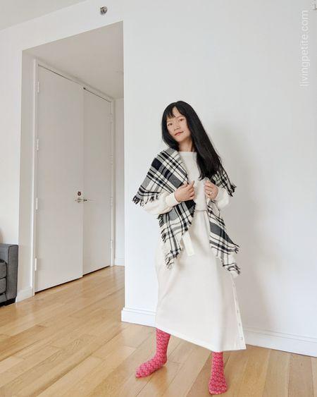 One and done. Long sleeved dresses to lounge in. http://liketk.it/34vu8 @liketoknow.it #liketkit #staycation #winterlounge #petitestyle #LTKsalealert #LTKstyletip #LTKunder100
