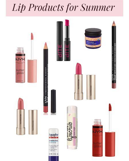 10 Lip Products for Summer💄☀️💋  #LTKbeauty #lips #lipstick #lipgloss #eyeslipsface #makeup #beauty #LTKstyletip http://liketk.it/3faB8 #liketkit @liketoknow.it