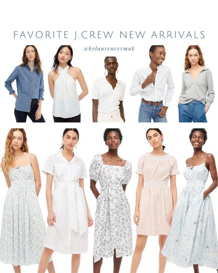 {Favorite J.Crew New Arrivals} You know I love the classics 😍 More linked than shown! To shop, click the link in my profile or you can shop by screenshot in the @liketoknow.it app! #liketkit #LTKunder100 #LTKunder50 #LTKstyletip http://liketk.it/3jiWt
