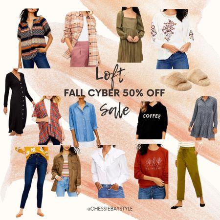 Loft 50% off Cyber Sale!!!!     #LTKGiftGuide #LTKsalealert #LTKSeasonal