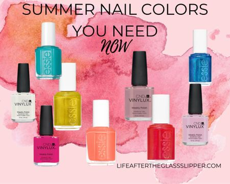 Summer nail colors are the current best trending nail colors for summer. #LTKbeauty #LTKwedding #LTKunder50 http://liketk.it/2S5GB #liketkit @liketoknow.it