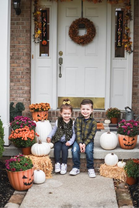 Sharing our Halloween porch update if you're looking for decor ideas for fall 2019 🎃✨🧡🍂  and these fall outfits for the kiddos that are so affordable and adorable 💚 http://liketk.it/2FaO9 #liketkit @liketoknow.it @liketoknow.it.home @liketoknow.it.family #LTKfamily #LTKkids #LTKhome