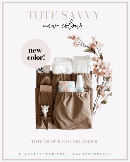 Favourite tote bag organizer with a new colour! Perfect for the fall diaper bag or everyday tote bag.   #LTKitbag #LTKSeasonal #LTKunder100