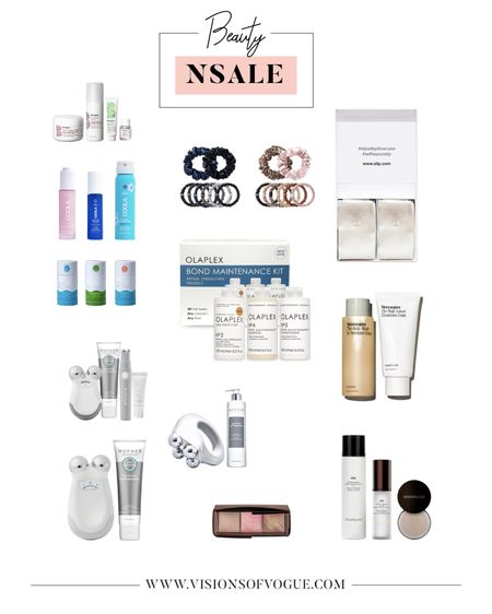 My favorite beauty deals from the Nordstrom Anniversary Sale (NSALE)!  I absolutely love this nuface deal. These slip scrunchies are amazing for reducing hair breakage and improving hair health. I also love the olaplex for a hair mask! Coola also makes great clean beauty sunscreens and kopari's deodorant glides on really well!   #LTKsalealert #LTKunder50 #LTKbeauty