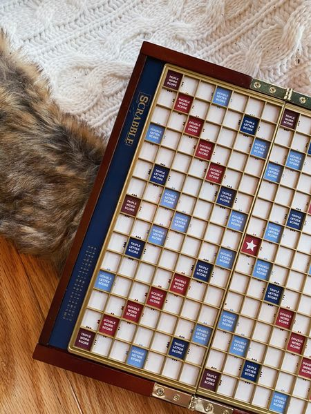 This travel edition deluxe Scrabble is the perfect gift for someone who loves game nights!   #LTKgiftspo #StayHomeWithLTK #LTKunder50