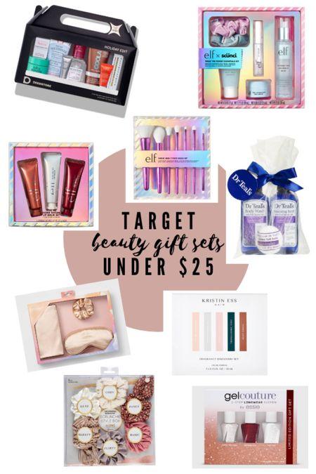 Target beauty gift sets under $25 http://liketk.it/32wM9 #liketkit @liketoknow.it Shop your screenshot of this pic with the LIKEtoKNOW.it shopping app #LTKgiftspo #LTKbeauty #LTKsalealert