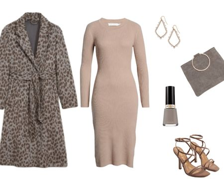 A neutral sweater dress is such a versatile basic! Check out my profile at Natty Gal for four great looks using this dress. This dressier look with strappy heels and a grey and tan leopard print coat is great for date night. http://liketk.it/39oVf @liketoknow.it #liketkit #LTKSeasonal #LTKsalealert #LTKstyletip #LTKunder50 #LTKunder100 #LTKshoecrush #LTKitbag @liketoknow.it.europe Screenshot or 'like' this pic to shop the product details from the LIKEtoKNOW.it app, available now from the App Store!