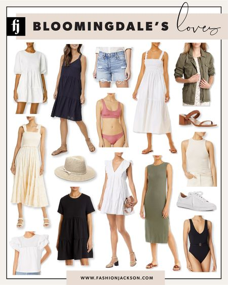 Shop and save on my favorite finds from Bloomingdale's - get 25% off during their cyber sale! Use code CYBER. #summerdress #summerfashion #sale #closetstaples #whitedress #swimsuit #bathingsuit #summertops #whitesneakers #fashionjackson http://liketk.it/3ie4I #liketkit @liketoknow.it #LTKsalealert #LTKunder50 #LTKunder100