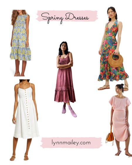 👗 Spring Dresses  Anthropologie - Old Navy - Loft - Madewell - Jcrew - spring dresses - floral dress - maxi dress - midi dress - t'shirt dress    http://liketk.it/3dwGm #liketkit @liketoknow.it #LTKworkwear   Shop my daily looks by following me on the LIKEtoKNOW.it shopping app
