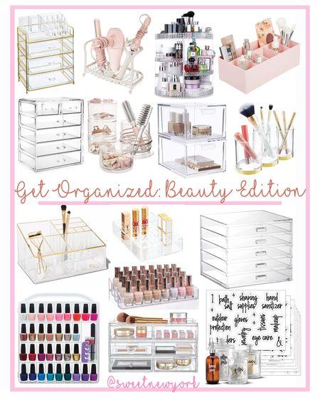 Let's get organized! Storage and organization solutions for beauty and makeup http://liketk.it/3fzSY #liketkit @liketoknow.it #LTKbeauty #LTKhome #LTKstyletip