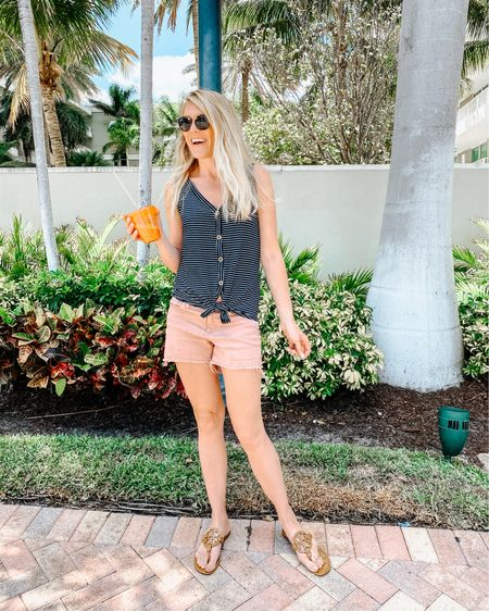 Super casual spring outfit for gator spotting and cold pressed juice this afternoon! http://liketk.it/3cyFJ #liketkit @liketoknow.it