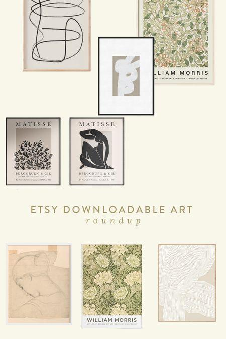 art download roundup 🤍  #LTKstyletip #LTKunder50 #LTKhome