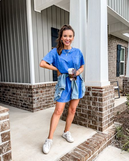 http://liketk.it/3iyMZ #liketkit @liketoknow.it // Fourth of July outfit, 4th of July outfit, patriotic outfit, tshirt dress, old navy   #LTKSeasonal #LTKstyletip #LTKunder50