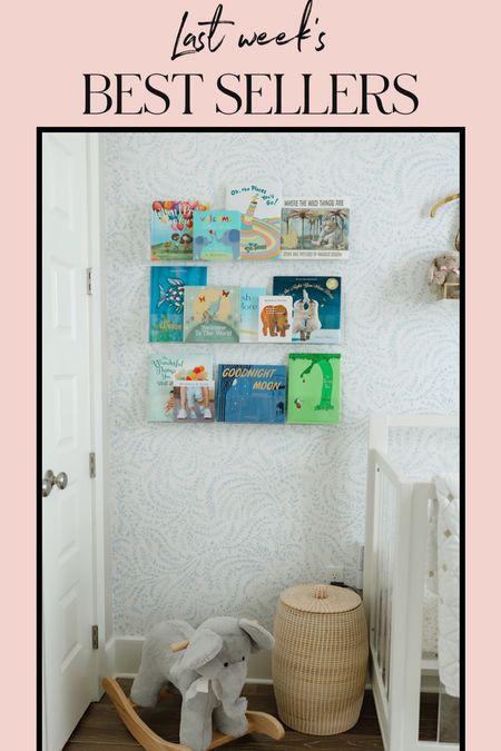 Beck's acrylic bookshelf from pottery barn is adorable & the perfect to display his favorite story books! #babyroom #babyboytoom #bookshelf #babyshelf #acrylicshelf #potterybarn #babyregistry #babybooks #whitecrib #nursery #boynursery #wallpaper #wallshelf  #LTKbaby #LTKhome #LTKbump