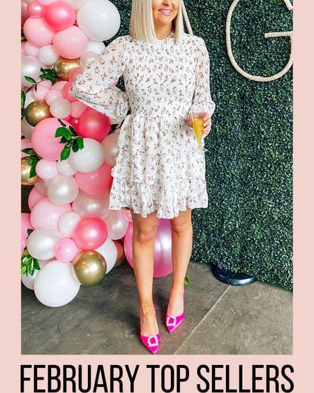 Ivory floral ruffle tiered dress! Baby showers, bridal showers, bridal luncheons http://liketk.it/2L9c4 @liketoknow.it #liketkit