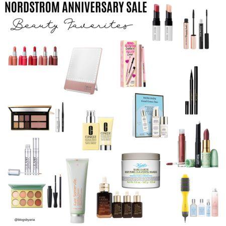 Nordstrom Anniversary Sale beauty favorites and beauty exclusives take advantage of #nsale special pricing   #LTKsalealert #LTKbeauty #LTKstyletip