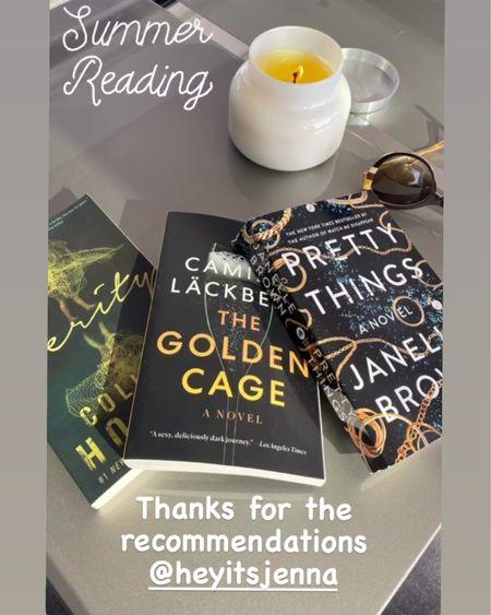 Summer reading Verity The golden cage Thriller novels Chicklit booklist #liketkit @liketoknow.it http://liketk.it/3ijCM