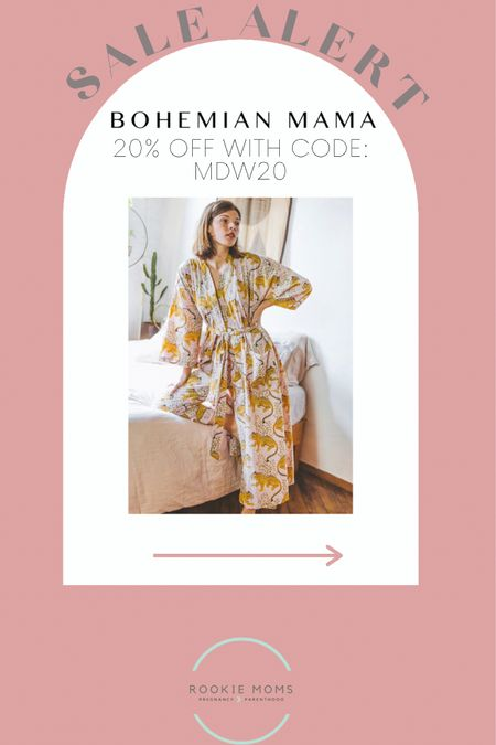 20% off with code: MDW20 at Bohemian Mama    http://liketk.it/3gqfW #liketkit @liketoknow.it #LTKunder100 #LTKsalealert #LTKbump @liketoknow.it.family Shop your screenshot of this pic with the LIKEtoKNOW.it shopping app