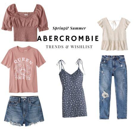 Abercrombie spring and summer trends and my wishlist!   #LTKSeasonal #LTKunder50 #LTKunder100