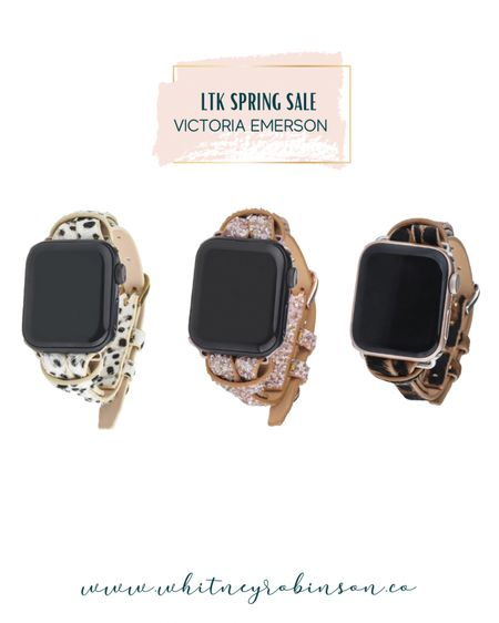 My favorite Apple Watch bands are from Victoria Emerson! Stock up while they're BOGO!! http://liketk.it/3cAsG @liketoknow.it @liketoknow.it.family #liketkit #LTKstyletip #LTKsalealert #LTKunder50   Apple Watch Spring fashion Spring outfit Summer fashion Summer outfit  Apple Watch band Smart watch band Bracelets  Business casual  Workwear
