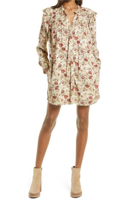 Adorable tts fall shirt dress! Perfect fall wedding attire   #LTKSeasonal #LTKunder100 #LTKstyletip