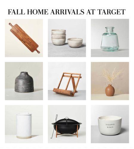 Fall home decor new arrivals at Target.   #LTKunder100 #LTKhome #LTKstyletip
