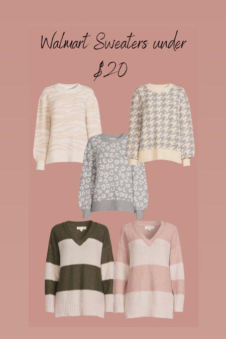 Walmart sweaters under $20   #LTKHoliday #LTKunder50 #LTKstyletip