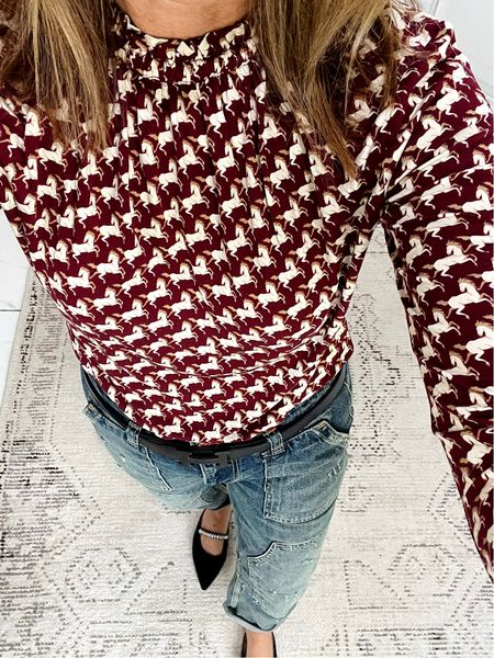 Outfit of the day  #fashionover50  #LTKunder100 #LTKshoecrush