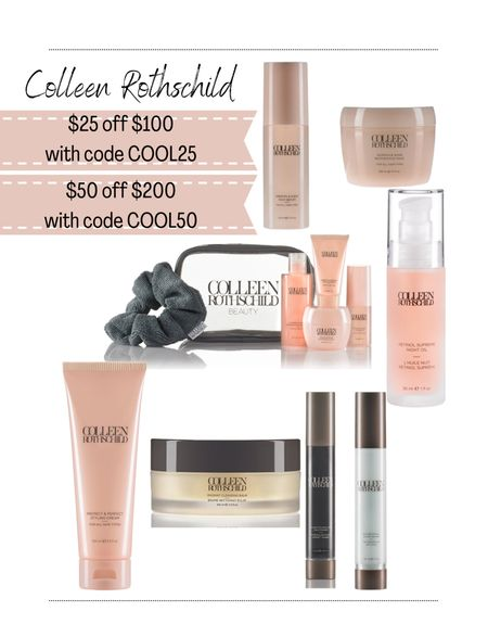 Colleen Rothschild Sale. My favorite hair products are on sale! I have also started using some of the skincare and love it.  Beauty. Skincare. Friday favorites.   #LTKsalealert #LTKbeauty #LTKunder100