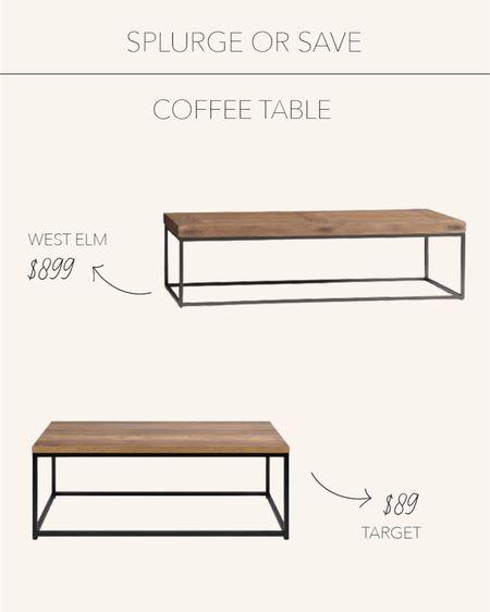 Splurge or Save | Timeless coffee table 🤎   #LTKunder100 #LTKhome #LTKstyletip