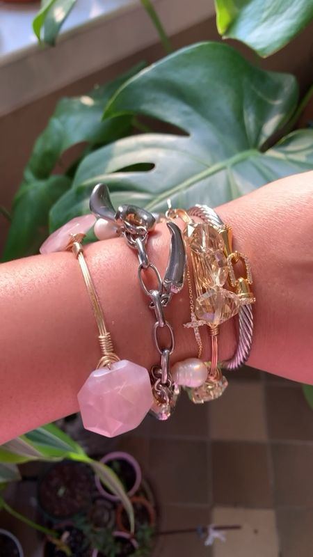 Arm party. Styled Collection cuff bracelet and more!   #LTKsalealert