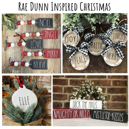 Want some adorable Rae Dunn inspired Christmas decor to add some cheer to your home? Check out these awesome items and support small shops while you decorate this year! #LTKfamily    #LTKunder50 #LTKhome @liketoknow.it @liketoknow.it.home #liketkit  Shop your screenshot of this pic with the LIKEtoKNOW.it app http://liketk.it/32jzW