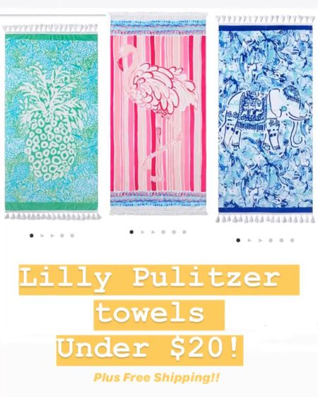 http://liketk.it/2ILEN #liketkit @liketoknow.it #LTKfamily #LTKsalealert #LTKunder50 @liketoknow.it.family Follow me on the LIKEtoKNOW.it shopping app to get the product details for this look and others #lillypulitzer #beachtowel #pbteen